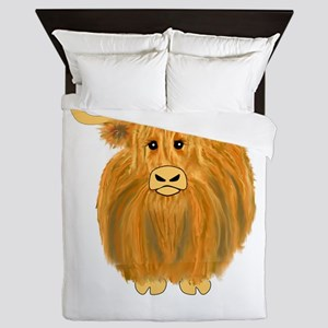 Woolly Moo Queen Duvet