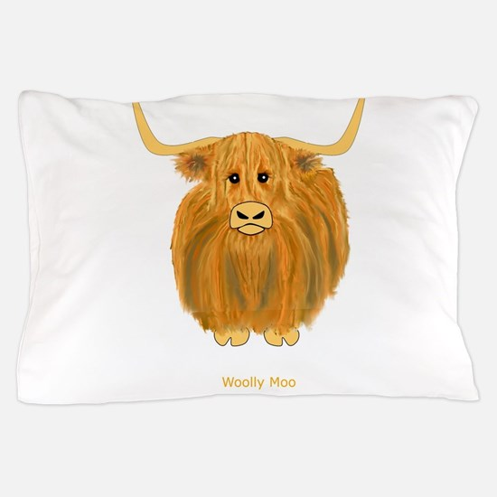 Woolly Moo Pillow Case