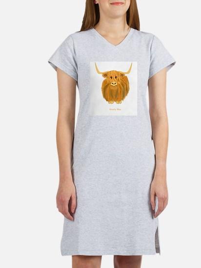 Woolly Moo Women's Nightshirt