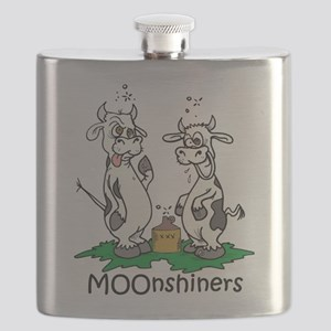 moonshine cows Flask