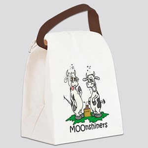 moonshine cows Canvas Lunch Bag