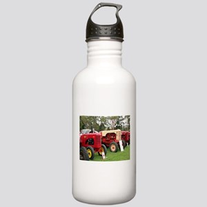 Vintage tractors in a Stainless Water Bottle 1.0L
