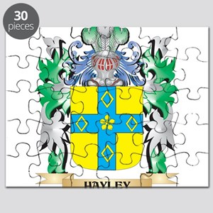 Hayley Coat of Arms (Family Crest) Puzzle