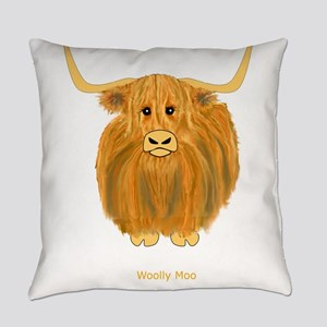Woolly Moo Everyday Pillow