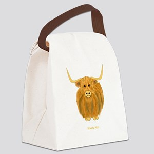 Woolly Moo Canvas Lunch Bag