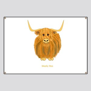 Woolly Moo Banner