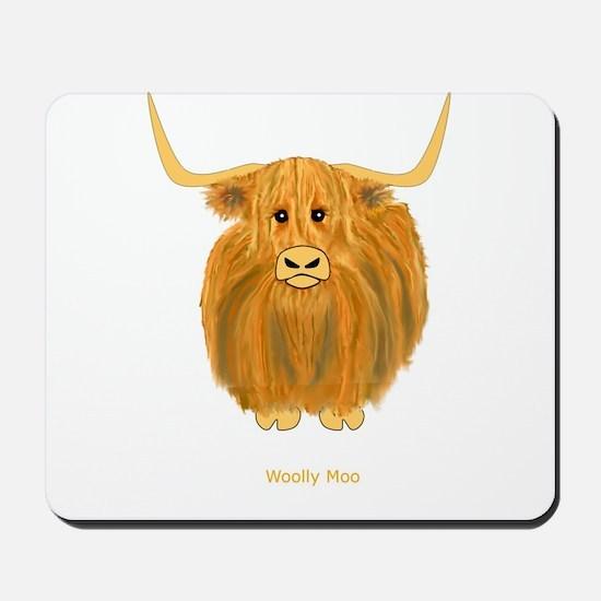 Woolly Moo Mousepad
