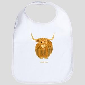 Woolly Moo Bib