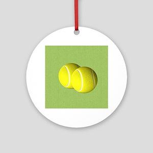 Tennis Sport Round Ornament