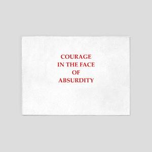 courage 5'x7'Area Rug