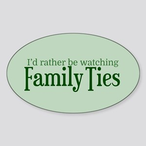 family Sticker (Oval)