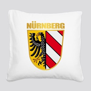 Nurnberg Square Canvas Pillow