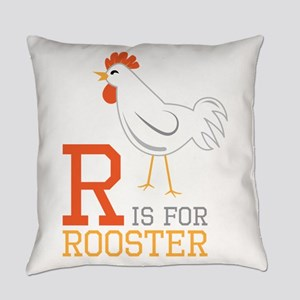 ris for roosted Everyday Pillow