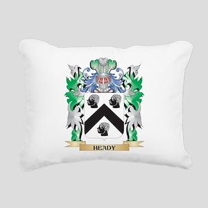 Heady Coat of Arms (Fami Rectangular Canvas Pillow
