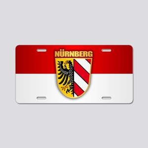 Nurnberg Aluminum License Plate