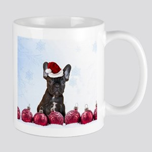 Christmas French Bulldog Mugs