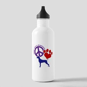 P,L,WEIMARANER Stainless Water Bottle 1.0L