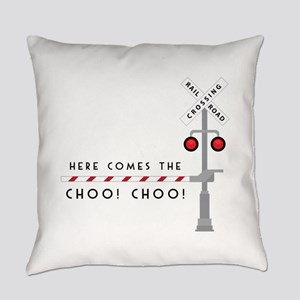 Here Comes Everyday Pillow