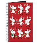Winter Holiday Reindeer Journal