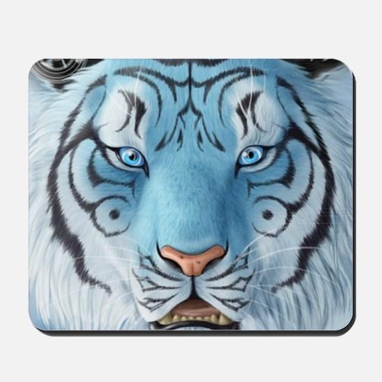Fantasy White Tiger Mousepad