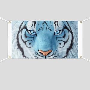 Fantasy White Tiger Banner