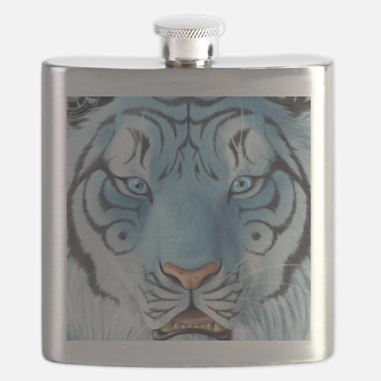Fantasy White Tiger Flask