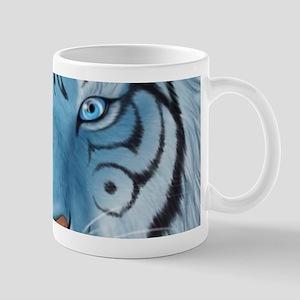 Fantasy White Tiger Mugs