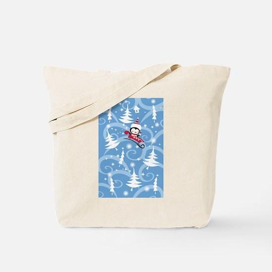 Winter Holiday Tote Bag