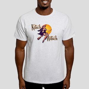 The Kitsch Witsch (broom) Light T-Shirt