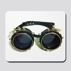 Steampunk Googles Mousepad