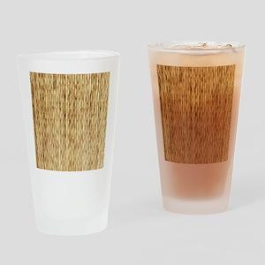 LIGHT BEIGE BAMBOO Drinking Glass