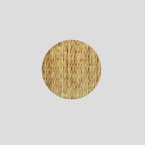 LIGHT BEIGE BAMBOO Mini Button