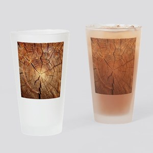 CROSS SECTION OF AN OLD TREE Drinking Glass