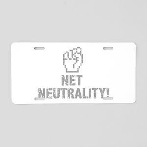 Net Neutrality! Aluminum License Plate