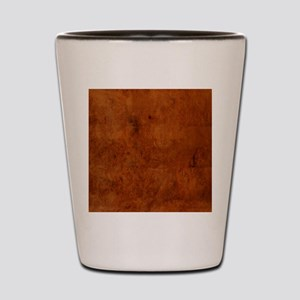 BURL OAK Shot Glass