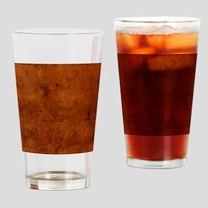 BURL OAK Drinking Glass