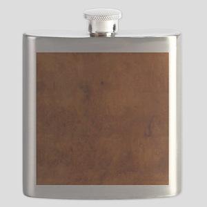 BURL OAK Flask
