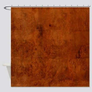 BURL OAK Shower Curtain