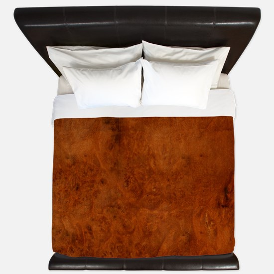 BURL OAK King Duvet
