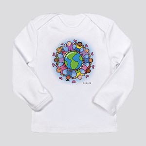 Kids On Earth Sleeved Long Sleeve T-Shirt
