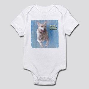 Yellow Labrador Retriever Infant Bodysuit