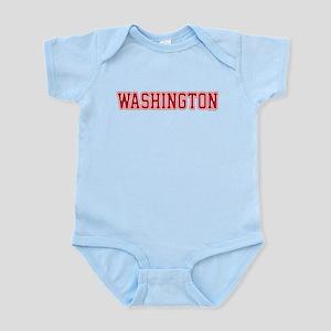 Washington Jersey Red Infant Bodysuit
