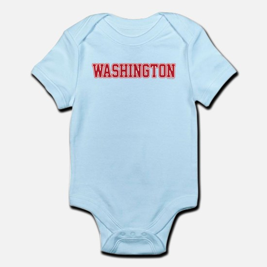 Washington Jersey Red Infant Bodysuit