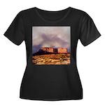Monument Valley Storm Women's Plus Size Scoop Neck