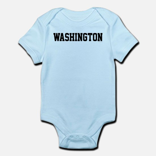 Washington Jersey Black Infant Bodysuit