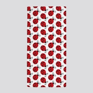 Special Ladybugs Beach Towel