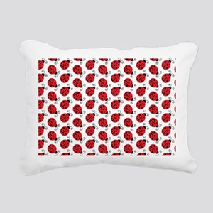 Special Ladybugs Rectangular Canvas Pillow