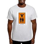 The Tarot Lovers Light T-Shirt