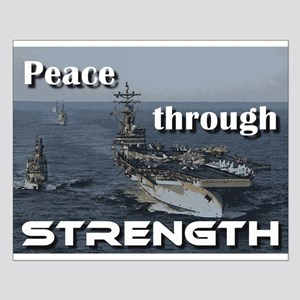 Peace through Strength Posters