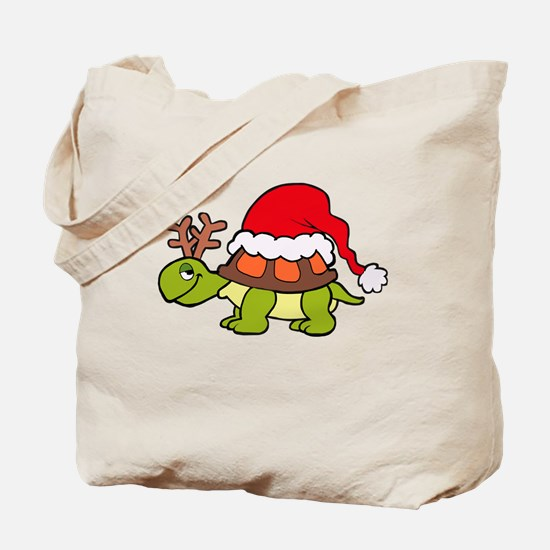 Cute Girl loves christmas Tote Bag